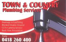 Town & Country Plumbing Services